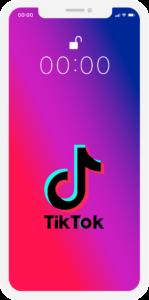 TikTok sovelluksen logo